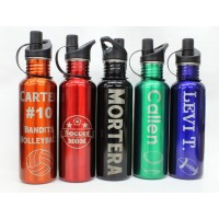 Stainless Steel 25oz Water Bottles