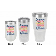 Girls Birthday Month Tumblers