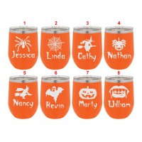 Personalized Halloween Tumblers