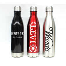 Personalized Water Bottle, 25oz and 17oz