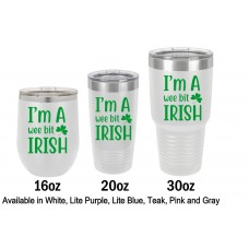 St Patricks Day Printed Tumblers