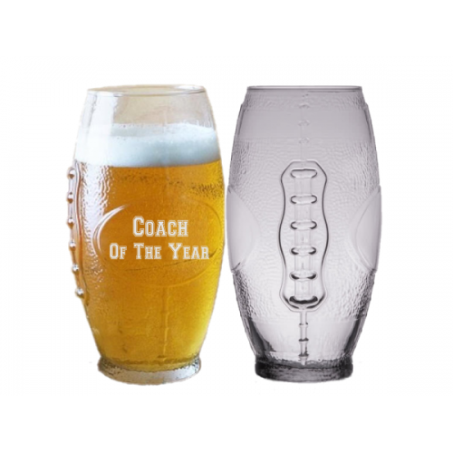 Football Shaped Beer Glass