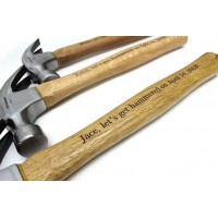 Personalized Wood Handle Hammer