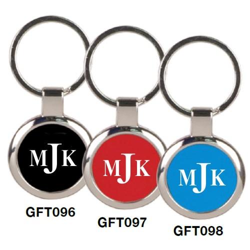 Engraved Metal Key Rings
