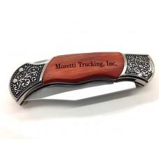 Rosewood Pocket Knife