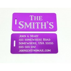 Large Luggage Tags