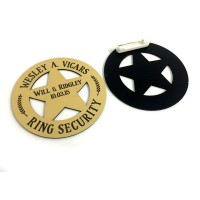 Ring Bearer Security Badge Style 3