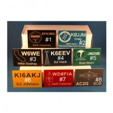 Amateur Radio Call Sign Badges