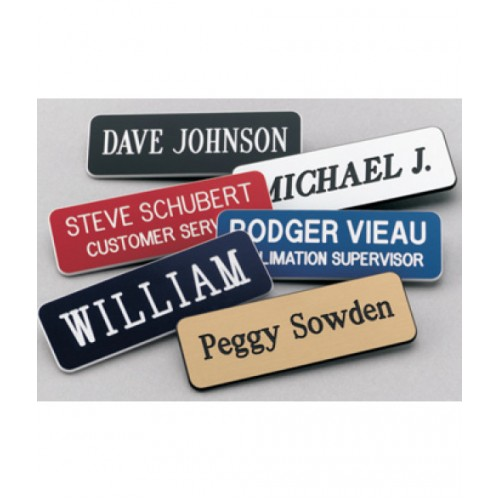 Acrylic Name Tags