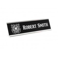 Desk Name Plate and Metal Holder