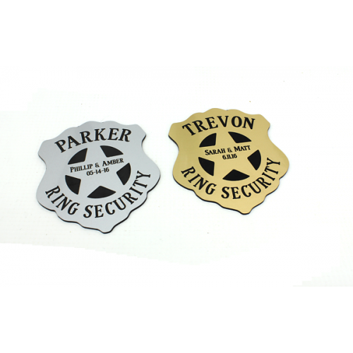 Ring Bearer Security Badge Style 2