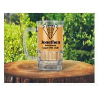 Printed 20oz Glass Beer Mug